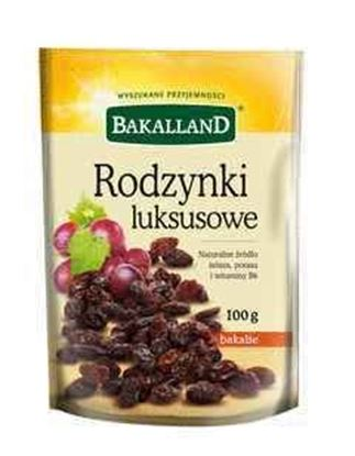 Picture of RODZYNKI LUKSUSOWE 100G BAKALLAND