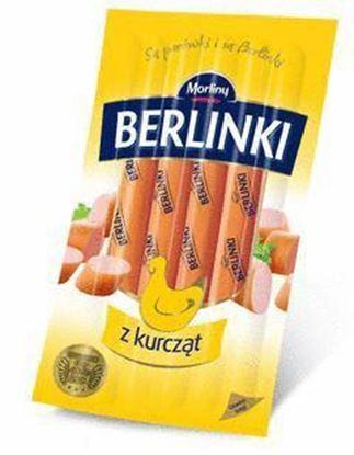 Picture of BERLINKI Z KURCZAT 5 SZT VACUM 250G MORLINY