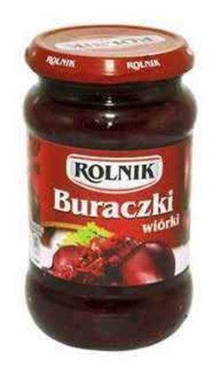 Picture of BURACZKI KONSERWOWE WIORKI 370ML ROLNIK