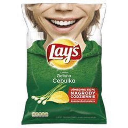 Picture of CHIPSY LAYS 140G ZIELONA CEBULKA