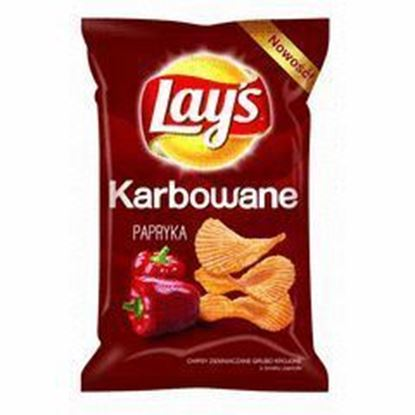 Picture of CHIPSY LAYS 140G KARBOWANA PAPRYKA