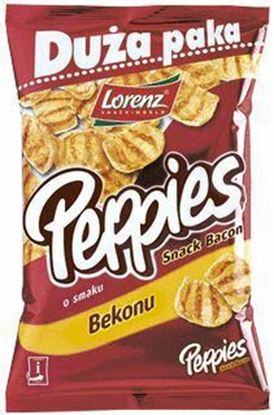 Picture of CHIPSY PEPPIES BEKON 100G LORENZ BAHLSEN