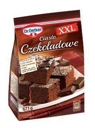 Picture of CIASTO DR OETKER CZEKOLADOWE XXL 672G