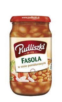 Picture of DANIE 620G FASOLA W SOSIE POMIDOROWYM PUDLISZKI