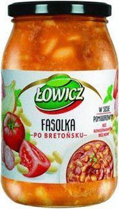 Picture of DANIE LOWICZ 940G FASOLKA PO BRETONSKU Z KIELBASA