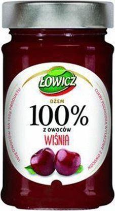 Picture of DZEM LOWICZ 220G 100% OWOCOW WISNIA