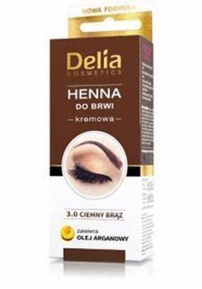 Picture of HENNA DO BRWI I RZES W KREMIE BRAZOWA DELIA