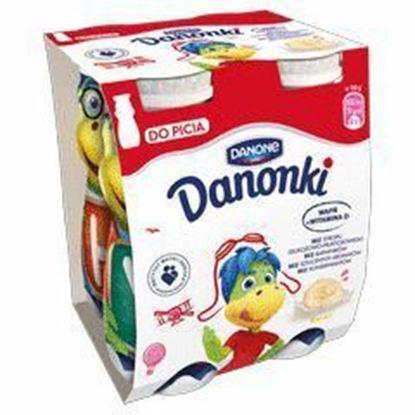 Picture of JOGURT PITNY DANONKI (SMOKI) BANAN 4X100G DANONE