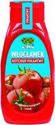 Picture of KETCHUP PIKANTNY 480G BUTELKA WLOCLAWEK
