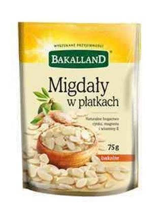 Picture of MIGDALY PLATKI 75G BAKALLAND