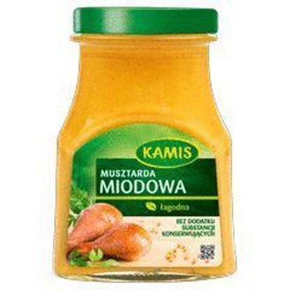 Picture of MUSZTARDA MIODOWA 185G KAMIS