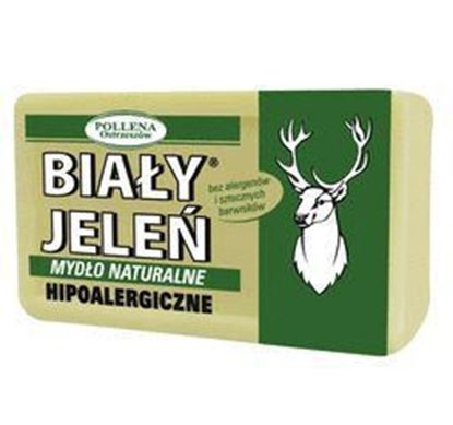 Picture of MYDLO W KOSTCE HIPOALERGICZNE NATURALNE 150 G BIALY JELEN