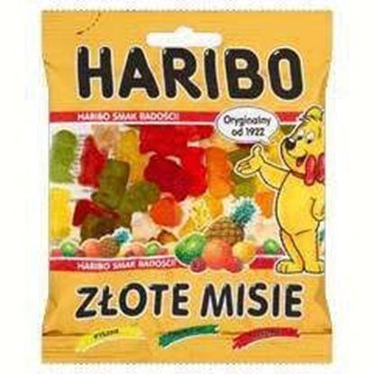Picture of ZELKI HARIBO ZLOTE MISIE GOLDBAREN 100G