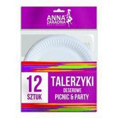 Picture of TALERZYKI DESEROWE 12SZT ANNA ZARADNA