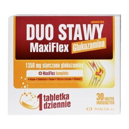 Picture of Duo Stawy MaxiFlex, Glukozamina, 30 tabletek musujących