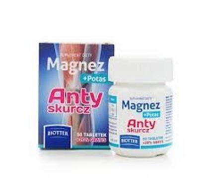 Picture of Magnez + Potas, Anty skurcz, 50 tabletek
