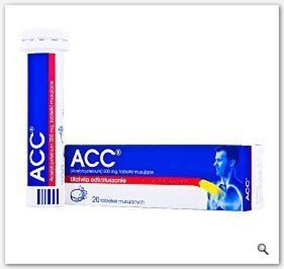 Picture of ACC, ułatwia odkrztuszanie, 200 mg, 20 tabletek