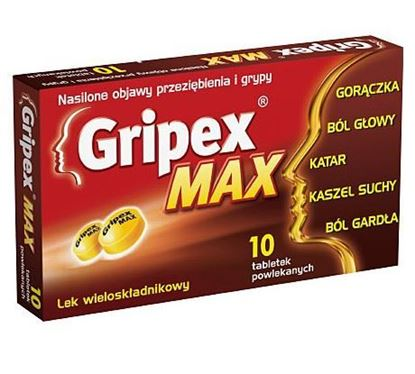 Picture of Gripex Max, 10 tabletek