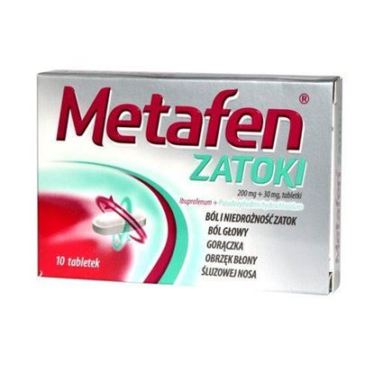 Picture of Metafen zatoki, 10 tabletek