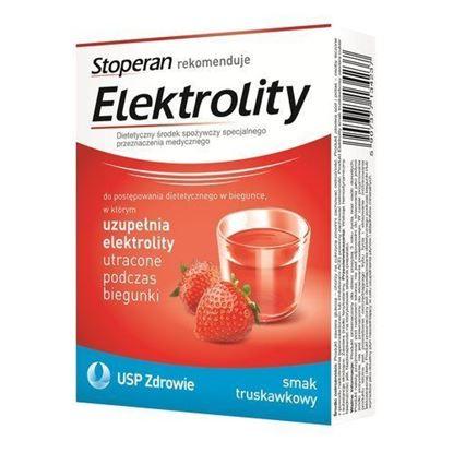 Picture of Elektrolity, proszek o smaku truskawkowym, 7 saszetek