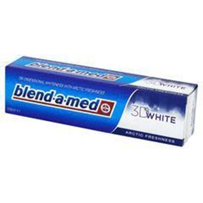 Picture of BLEND-A-MED PASTA DO ZEBOW 3D WHITE ARCTIC 100ml