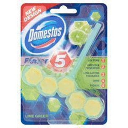 Picture of KOSTKA DO WC POWER 5 LIME DOMESTOS