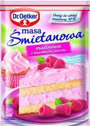 Picture of MASA SMIETANOWA-MALINOWA 86G DR OETKER
