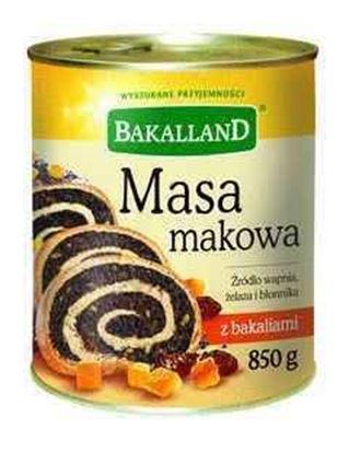 Picture of MASA MAKOWA Z BAKALIAMI 850G BAKALLAND