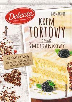 Picture of KREM TORTOWY SMAK SMIETANKOWY 120G DELECTA