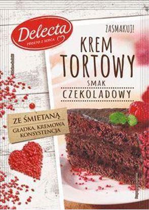 Picture of KREM TORTOWY SMAK CZEKOLADOWY 122G DELECTA