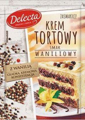 Picture of KREM TORTOWY SMAK WANILIOWY 120G DELECTA
