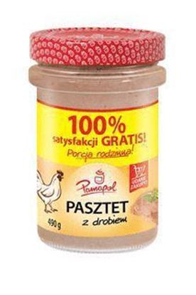 Picture of PASZTET Z DROBIEM 490G PAMAPOL