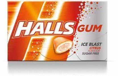 Picture of GUMA HALLS CITRUS 18G (16 DRAZETEK)