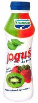 Picture of JOGURT JOGUS PITNY TRUSKAWKA-KIWI-ALOES 350G BUT KRASNYSTAW