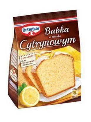 Picture of CIASTO DR OETKER BABKA CYTRYNOWA 375G