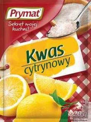 Picture of KWASEK CYTRYNOWY PRYMAT 20G