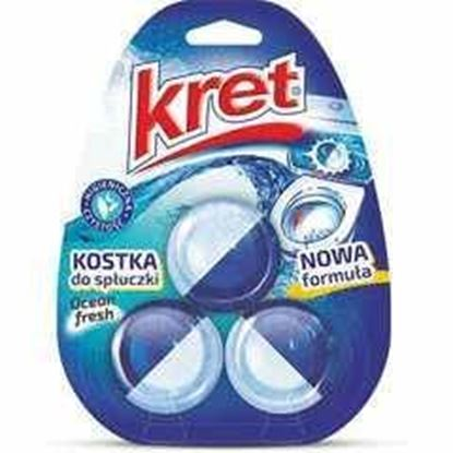 Picture of KOSTKA WC DO SPLUCZKI OCEAN 3*50G KRET