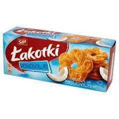 Picture of CIASTKA SAN LAKOTKI KOKOSOWE 168G MONDELEZ