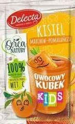 Picture of KISIEL OWOCOWY KUBEK KIDS MARCHEW POMARANCZA 31G DELECTA
