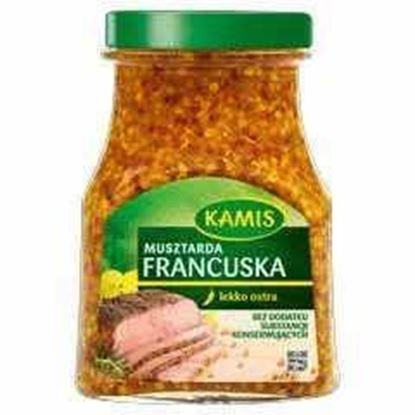 Picture of MUSZTARDA FRANCUSKA 185G KAMIS