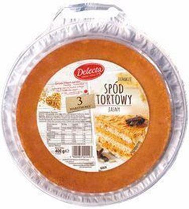 Picture of PODKLAD TORTOWY SPOD JASNY POTROJNY 420G DELECTA
