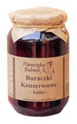 Picture of BURACZKI KONSERWOWE KULKI 460G PIWNICZKA BABUNI