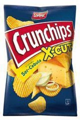Picture of CHIPSY 140G X-CUT SER I CEBULA CRUNCHIPS