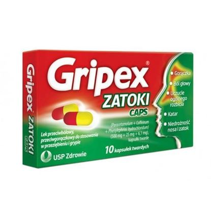 Picture of Gripex Zatoki Caps, 10 kapsułek