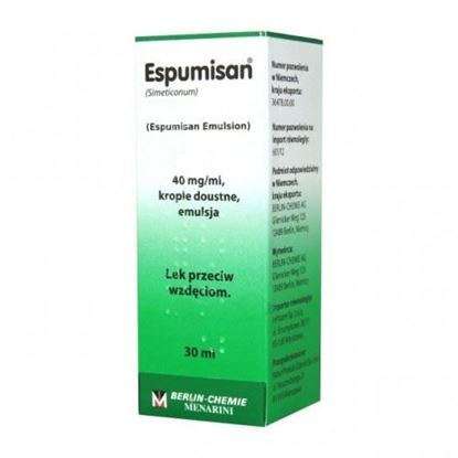 Picture of Espumisan, 40mg/ml, krople doustne, po 1 miesiącu, 30ml