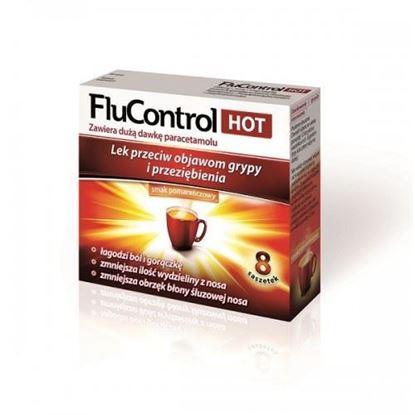 Picture of FluControl HOT, 8 saszetek, smak pomaranczowy