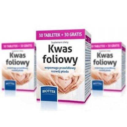 Picture of Kwas Foliowy 400mcg, 30 tabletek