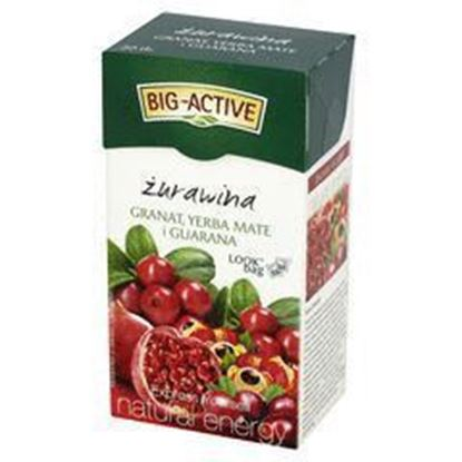 Picture of BIG-ACTIVE HERB EXP ZUR GRA YER MATE GUAR 20*2