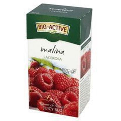 Picture of BIG-ACTIVE HERBATA EXP MALINA ACEROLA 20