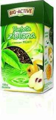 Picture of BIG-ACTIVE HERBATA LISC ZIELONA Z PIGWA 100G